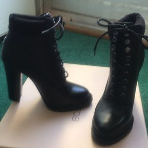 BCBGeneration Lace Up Booties